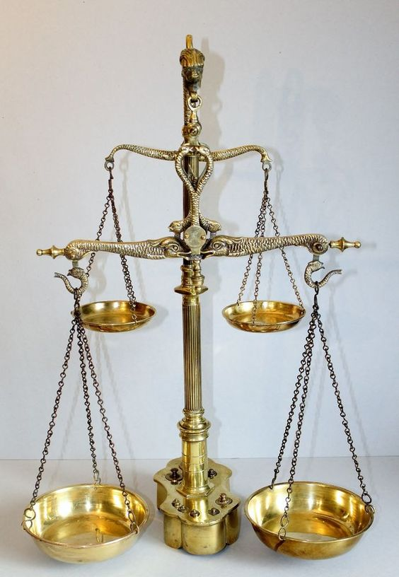 polished brass double beam apothecary scale.jpg